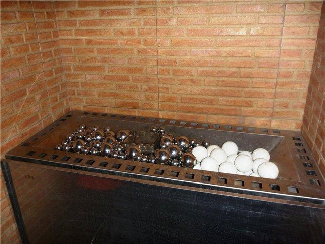 Фарфоровые шары для бани